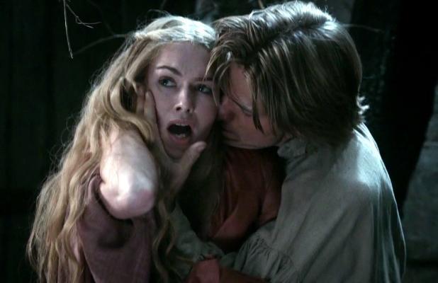 Cersei e Jaime amoreggiano