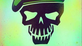 Il cartoon poster di Joel Kinnaman in Suicide Squad