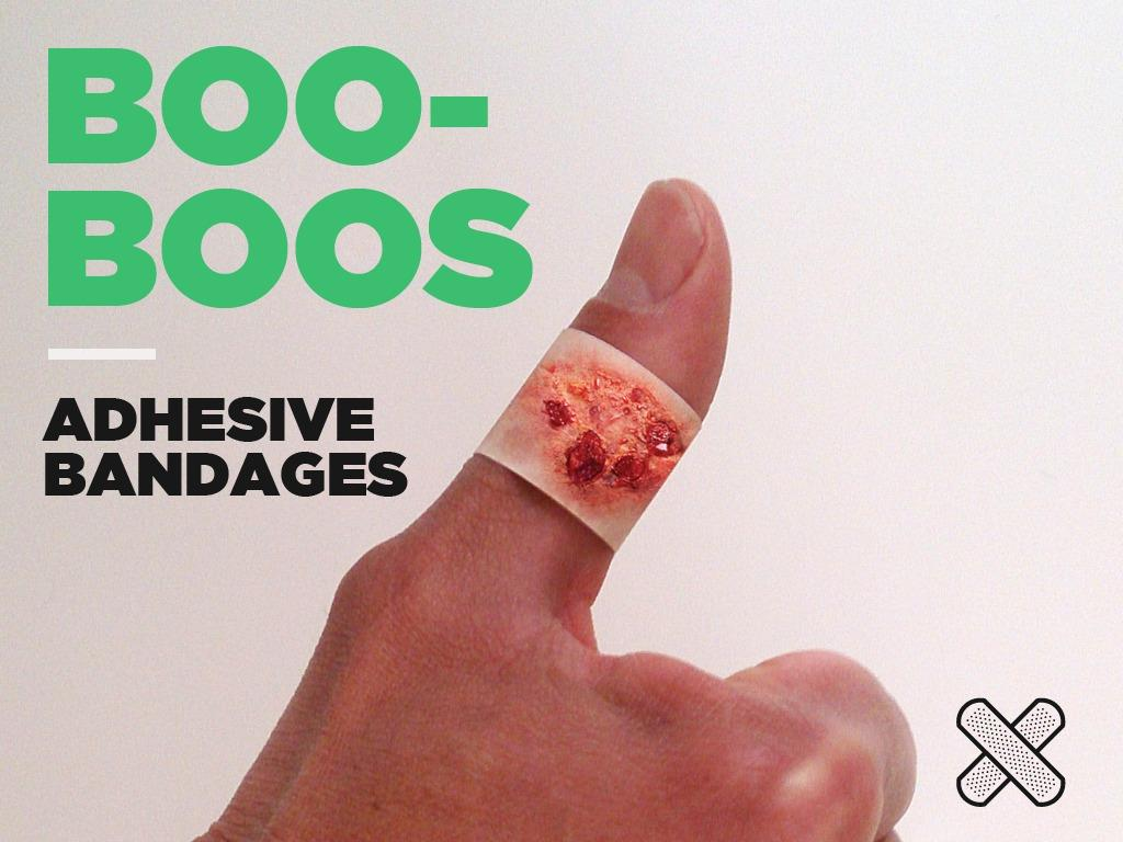 I cerotti adesivi BooBoos
