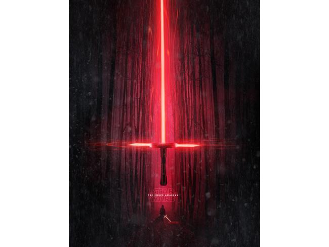 poster della lightsaber di Star Wars 7