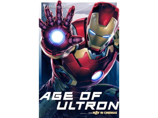 Iron Man Age of Ultron Promo Art