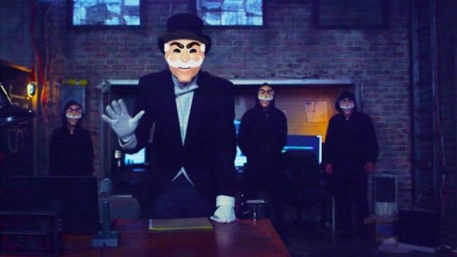 Una scena di Mr Robot