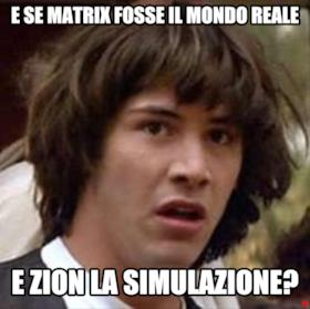 e se matrix fosse il mondo reale e zion la simulazione?