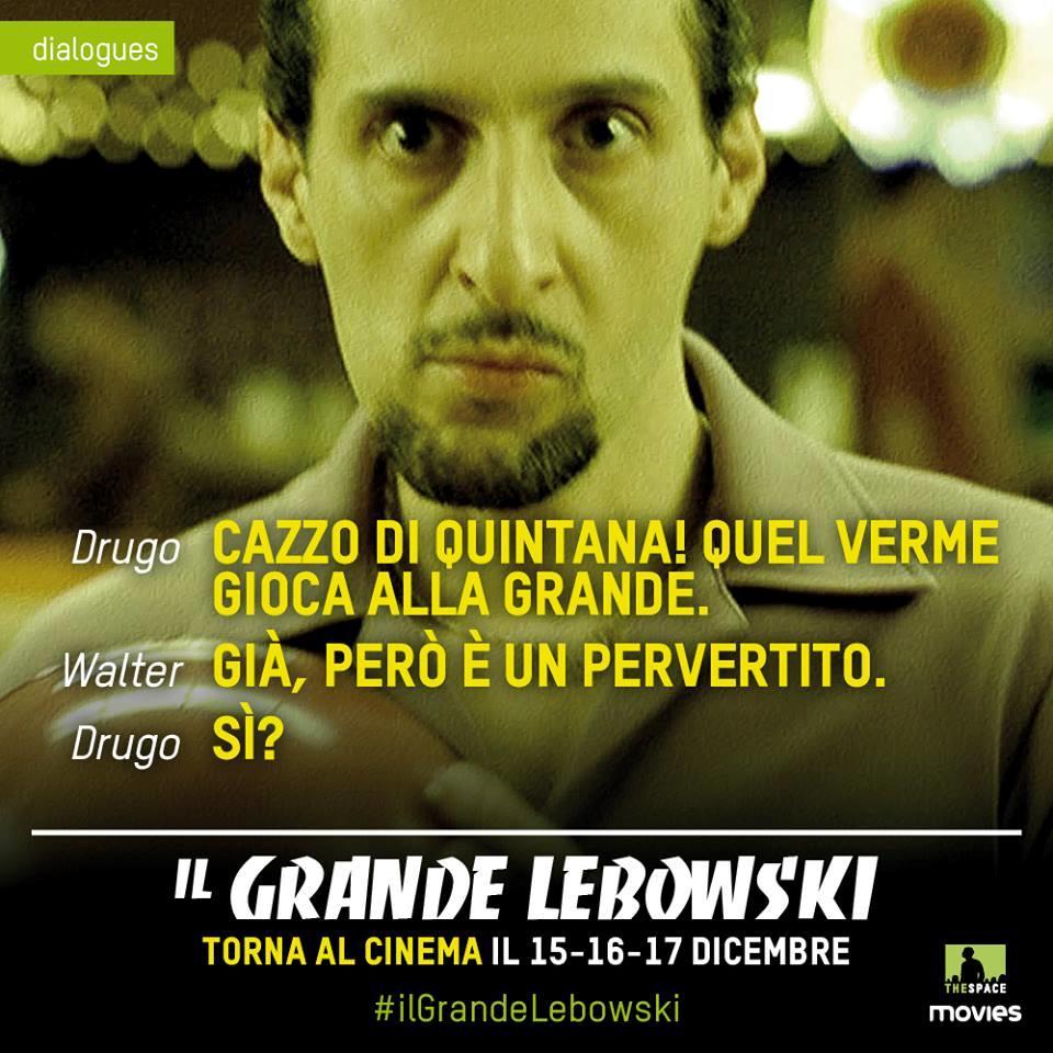 Citazione da il Grande Lebowski su Jesus Quintana
