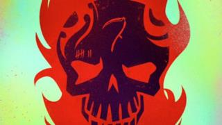 Il cartoon poster di El Diablo in Suicide Squad