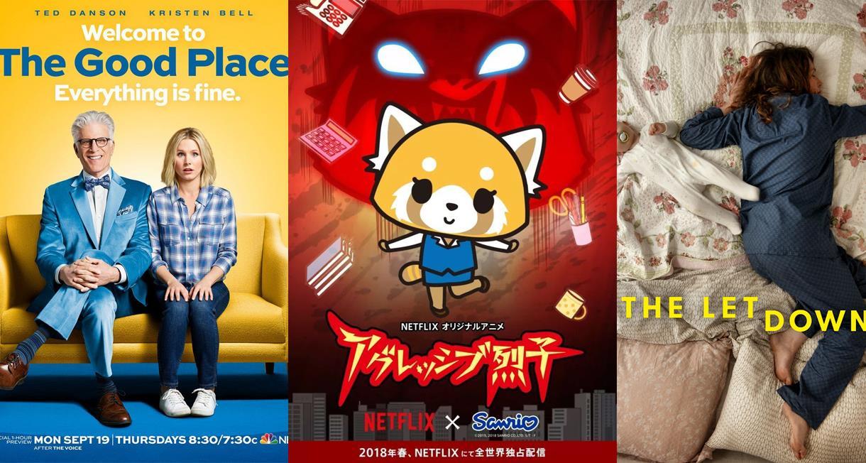 un collage con le locandine dei film novità di netflix aprile 2018