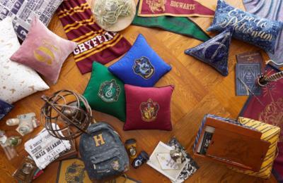 Zaini e cuscini delle case di Hogwarts