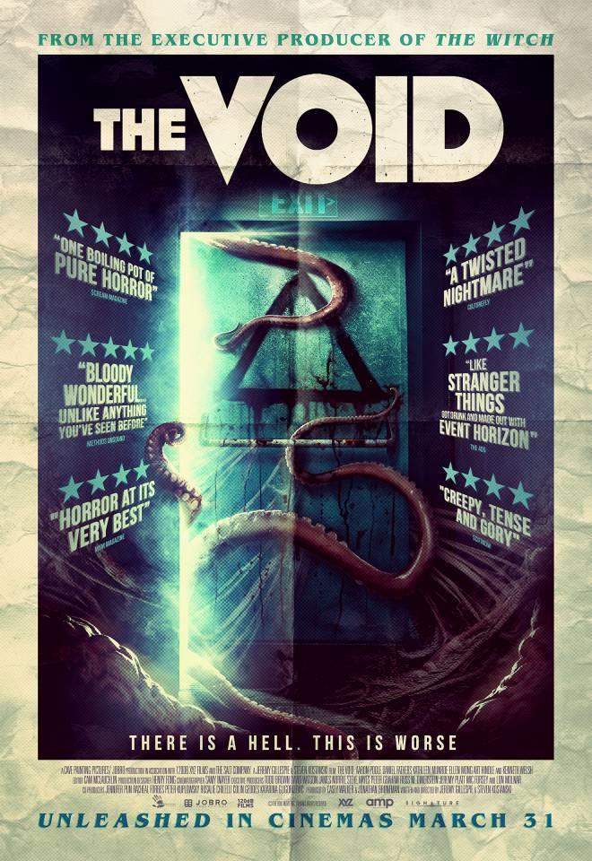 locandina del film horror The void