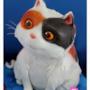 Il gatto di Home in una decorazione per torte