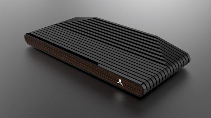 L'Ataribox in legno di lato