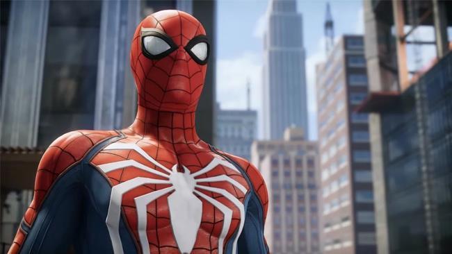 Uno scatto ravvicinato a Spider-Man su PlayStation 4