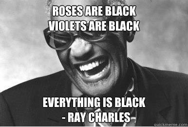 Ray Charles vittima di un meme