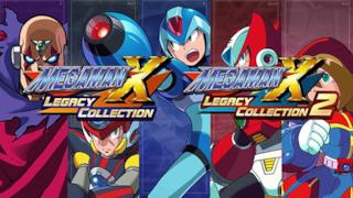 Mega Man X Legacy Collection 1 e 2 in un'immagine promozionale