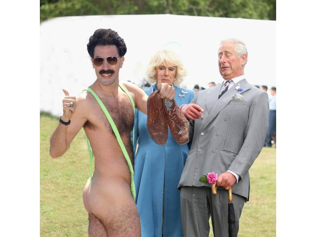 Il Principe Carlo contro Borat