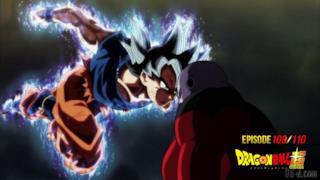 Goku si scontra con Jiren