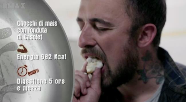 Chef Rubio si gusta gli gnocchi di mais