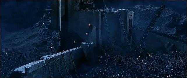 Lo scontro nella battaglia del Fosso di Helm