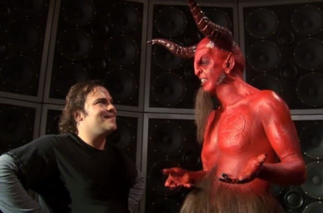 Dave Grohl e Jack Black