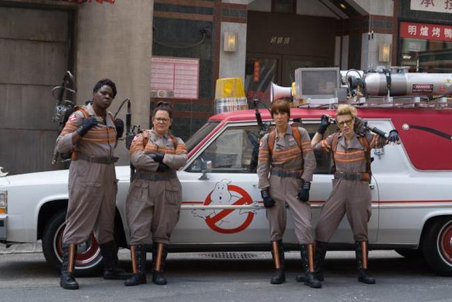 Prima immagine delle Ghostbusters in divisa nel reboot