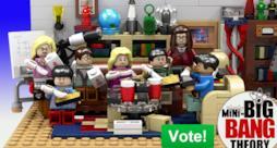 Il set Lego di The Big Bang Theory