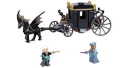 La foto di alcuni dei pezzi contenuti all'interno del set LEGO