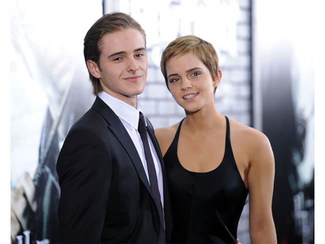 Emma Watson e suo fratello