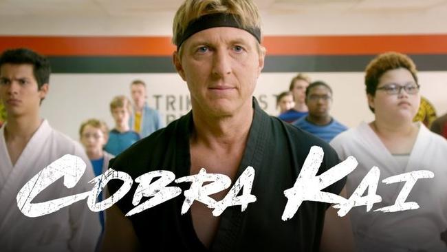 Johnny è il protagonista della storia in Cobra Kai