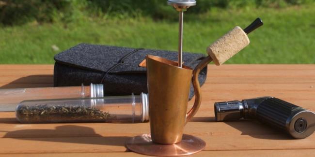 Bripe, la pipa che fa da caffettiera ovunque vuoi