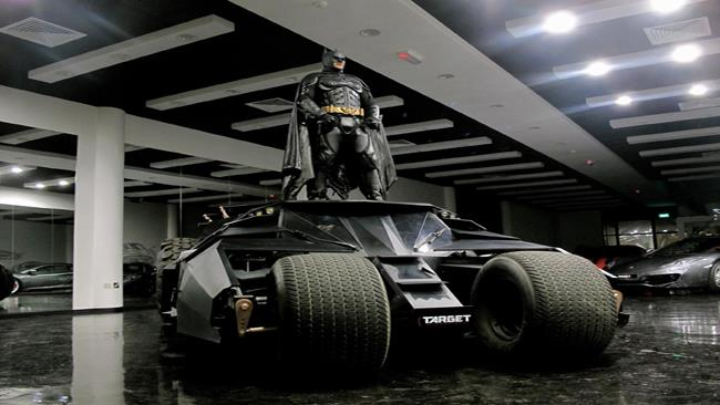 Tumbler Batmobile messa in vendita a Dubai