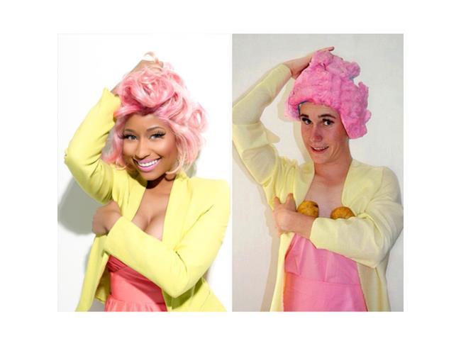 Versione low cost di Nicky Minaj