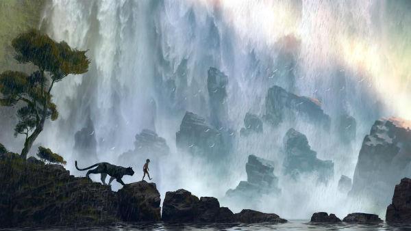 Mowgli e Bagheera nella prima immagine del live-action Disney del Libro della Giungla