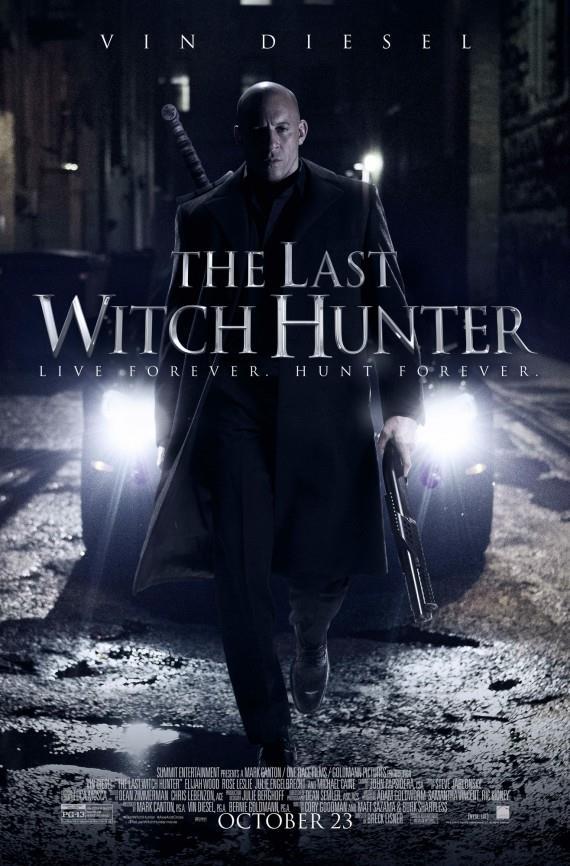 Vin Diesel, l'ultimo cacciatore di streghe, in The Last Witch Hunter