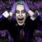 Joker di Suicide Squad in completo viola