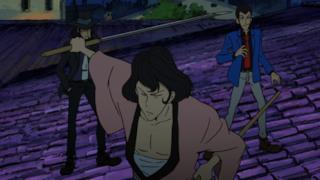 Jigen, Goemon e Lupin sui tetti
