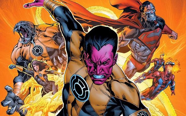 Sinestro e le sue Lanterne Gialle