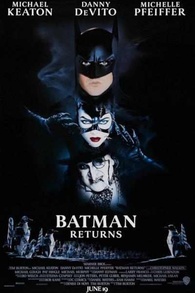 La locandina di Batman – Il ritorno
