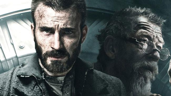 Chris Evans e John Hurt in Snowpiercer
