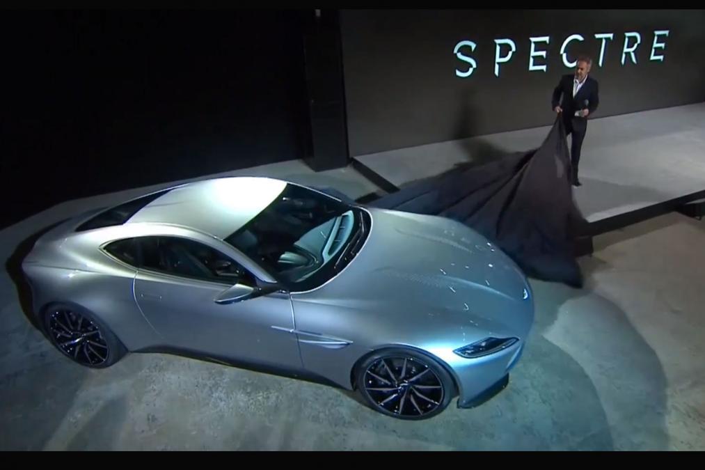 Presentazione della Aston Martin DB 10 per il film Spectre