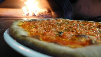 Una delle pizze del menu