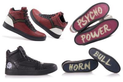 Le scarpe di M. Bison e Birdie