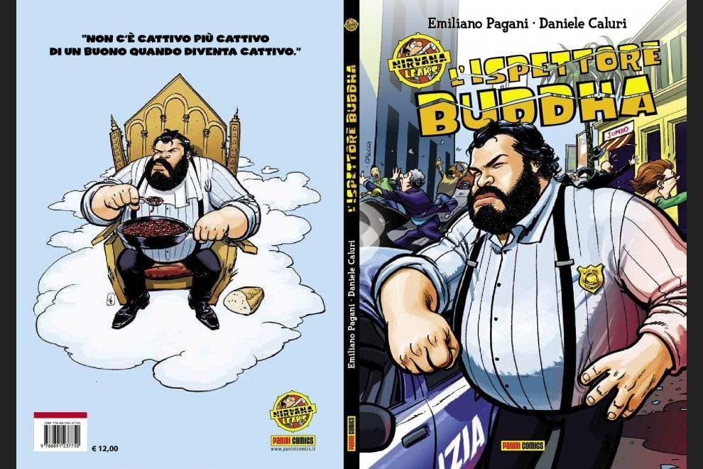 La copertina de L'ispettore Buddha