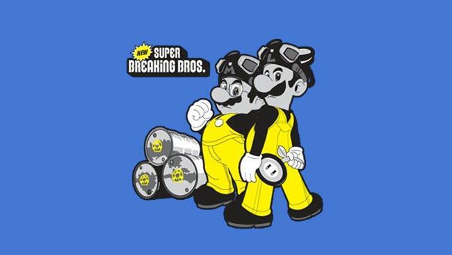 Breaking Bad trasposto nel mondo di Mario Bros.
