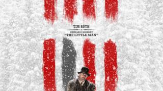 Il character poster di The Hateful Eight con Tim Roth