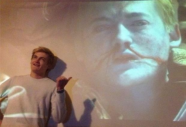 jack gleeson e le immagini di re joffrey morto