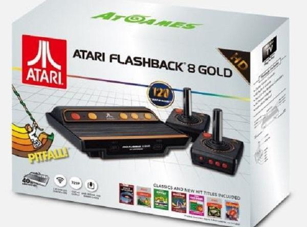 Il packaging dell'Atari Flashback 8 Gold