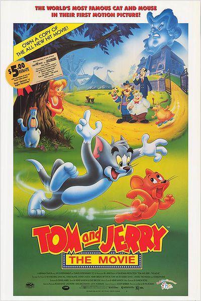La locandina de Tom e Jerry: il film
