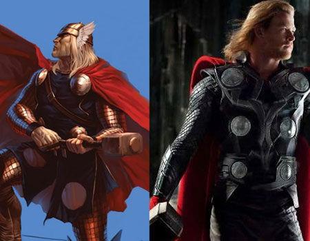 Paragone tra i fumetti e i film