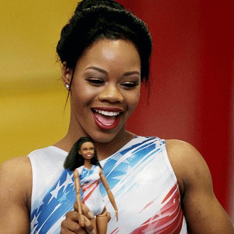 Gabby Douglas, campionessa di ginnastica