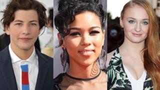 Il nuovo cast di X-Men: Apocalypse: Tye Sheridan Alexandra Shipp e  Sophie Turner