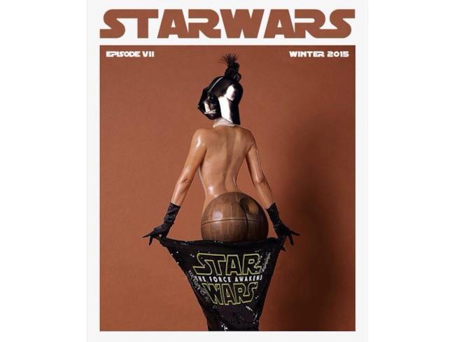 Meme di Darth Vader e Kim Kardashian